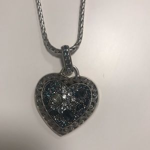 Brighton Heart Pendant Necklace NWOT